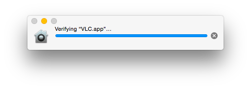 VLC verifying...